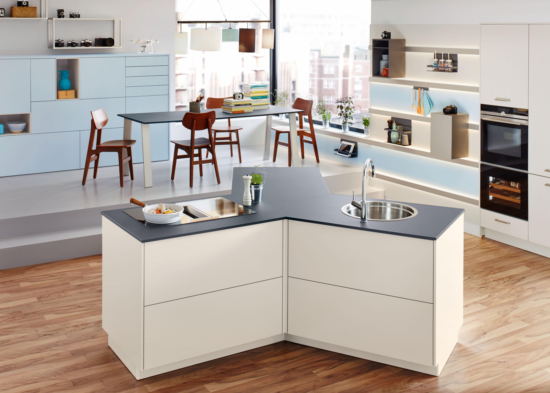 Offene Wohnküchen superleise lifestyle küchen amk arbeitsgemeinschaft die moderne