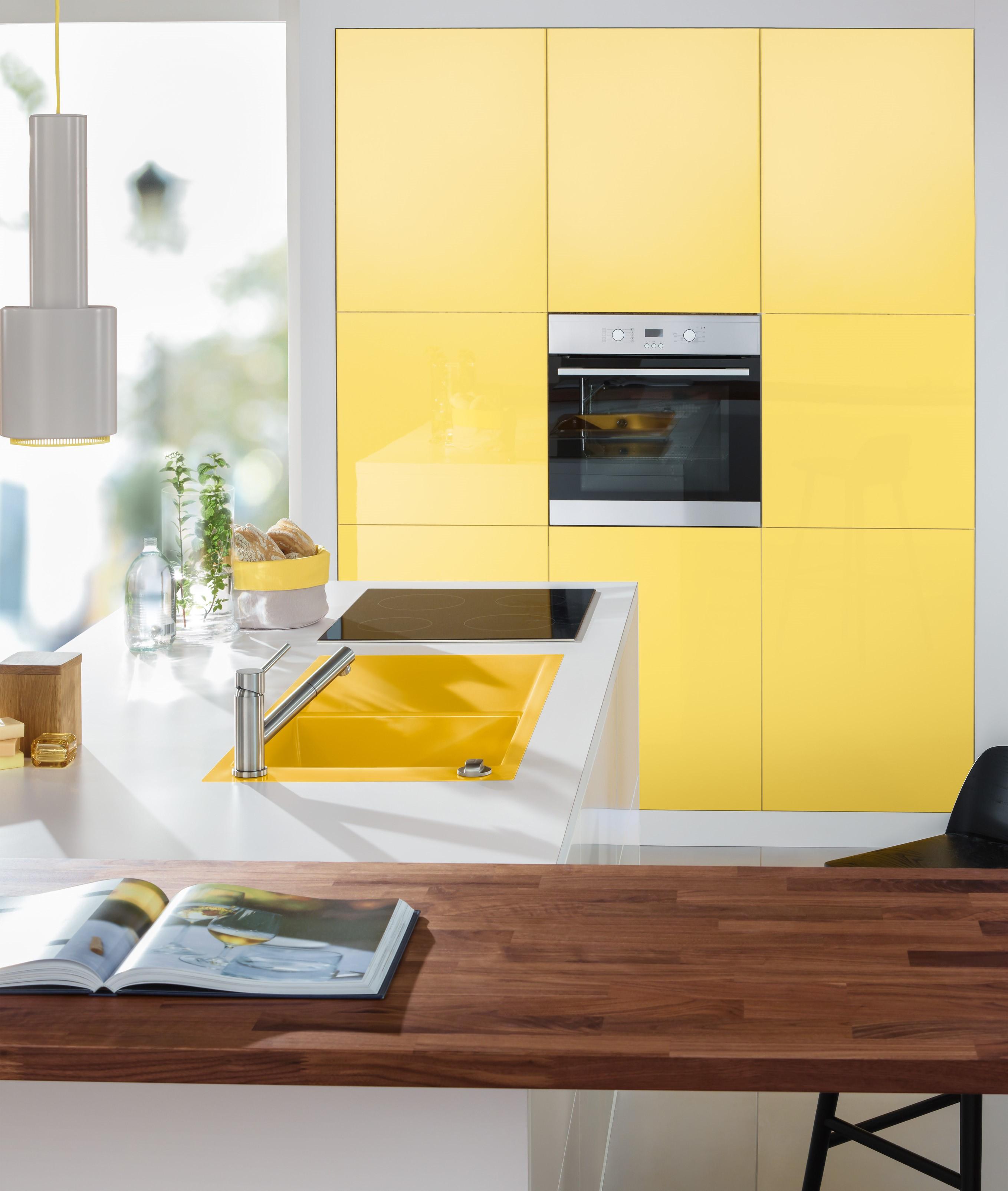 Nett Farbige Küchenschränke 2014 Galerie - Ideen Für Die Küche ...