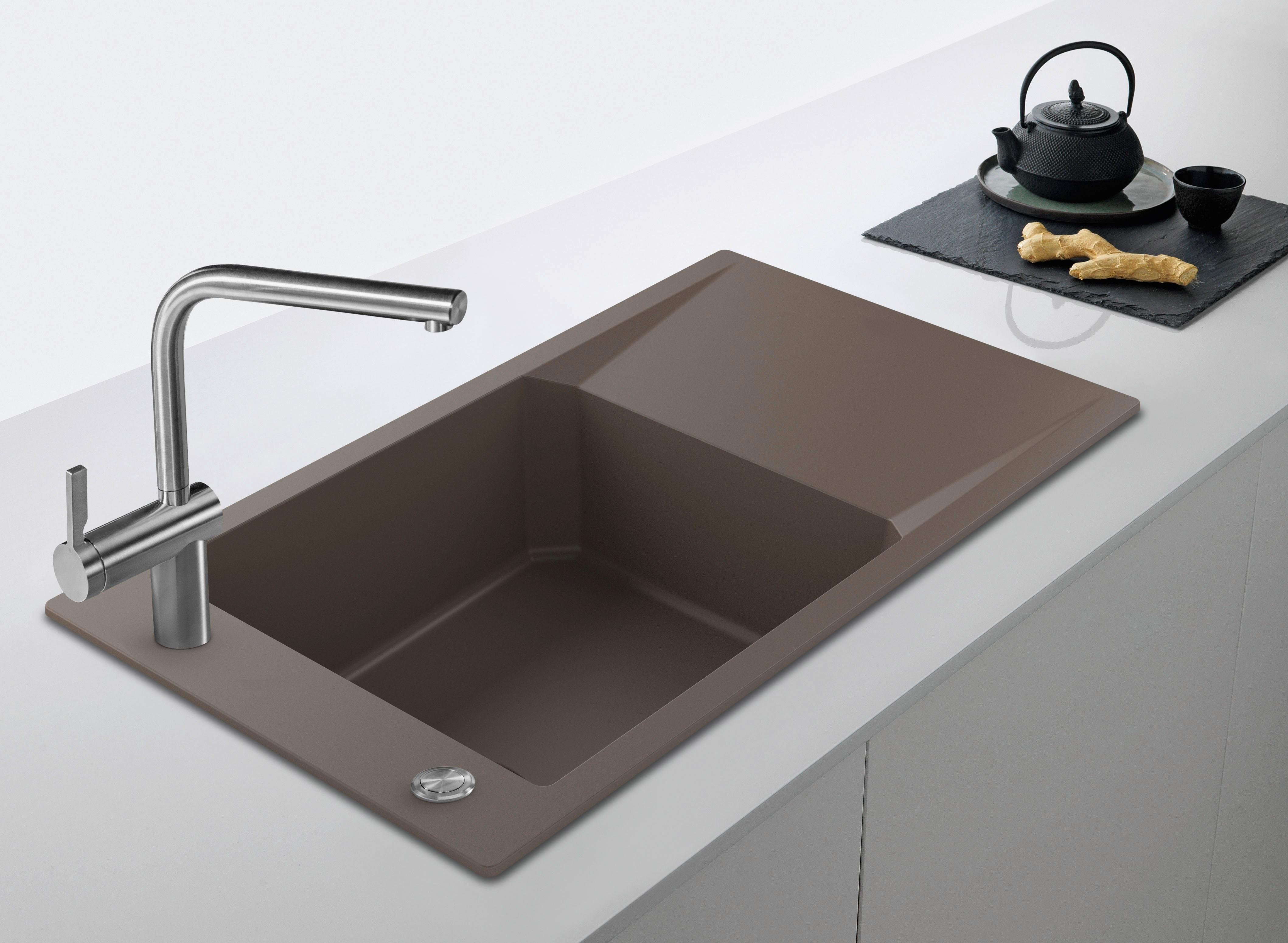 Farbige Spülen - AMK - Arbeitsgemeinschaft Die Moderne Küche e.V.