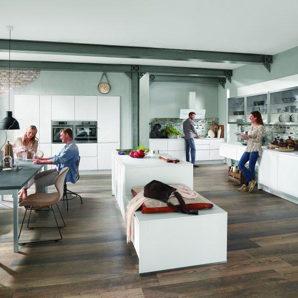 Männerküche vs. Frauenküche