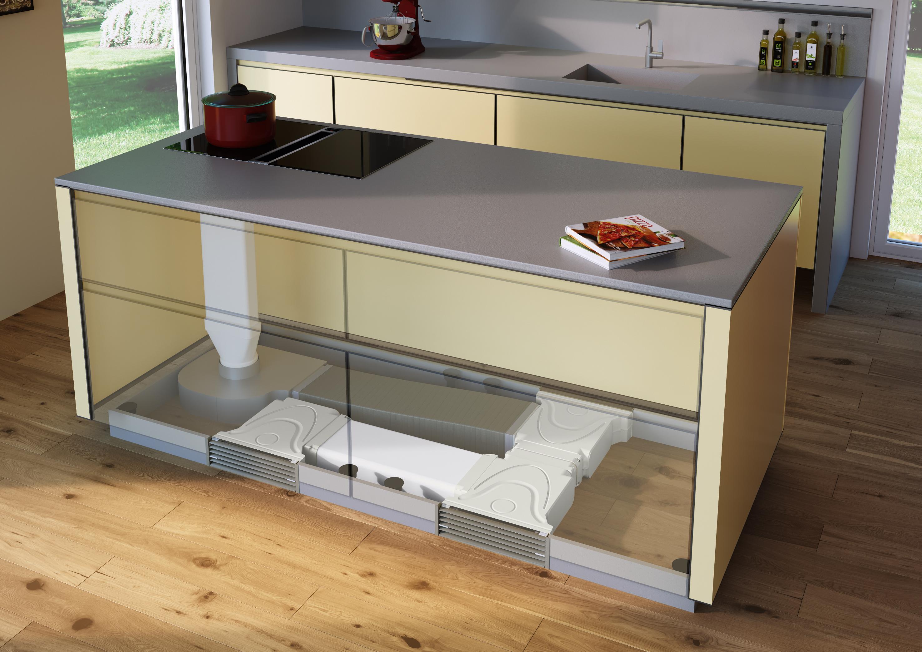 Das richtige Dunstabzugssystem für Wohnküchen - AMK
